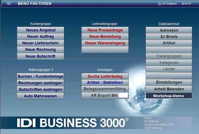 Unternehmer Software Rechnungsprogramm für Firmen,Angebot,Rechnung,Mitarbeiter